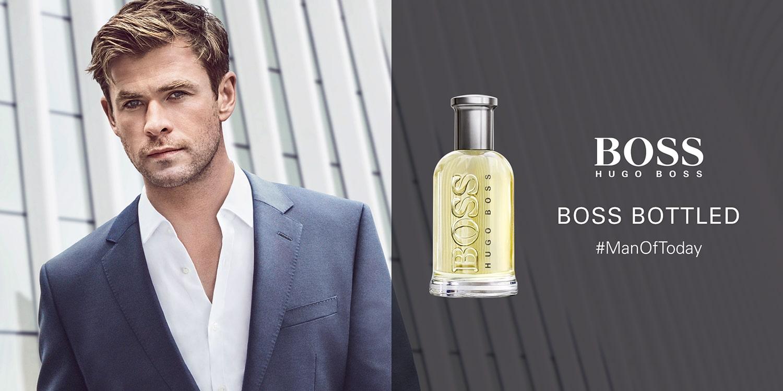 بررسی، مشاهده قیمت و خرید عطر (ادکلن) هوگو باس باتلد (بوس باتلد- باس باتل- باس طوسی) Hugo Boss Bottled اصل