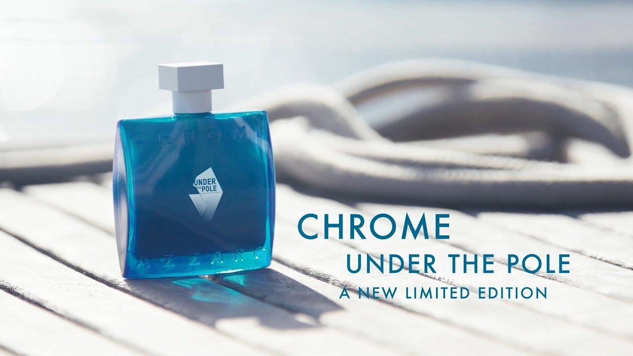 بررسی، مشاهده قیمت و خرید عطر (ادکلن) آزارو کروم آندر د پول Azzaro Chrome Under The Pole اصل