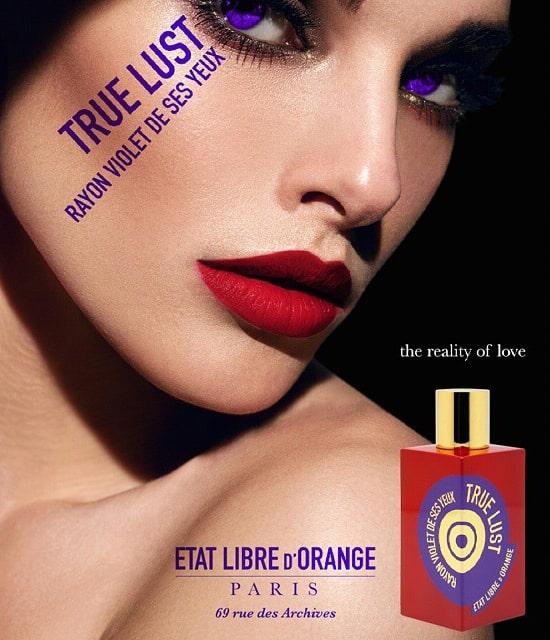 بررسی، مشاهده قیمت و خرید عطر (ادکلن) اتات لیبره د اورنج ترو لاست رایون (ریان) ویولت دس سس یو Etat Libre d'Orange True Lust Rayon Violet De Ses Yeux اصل