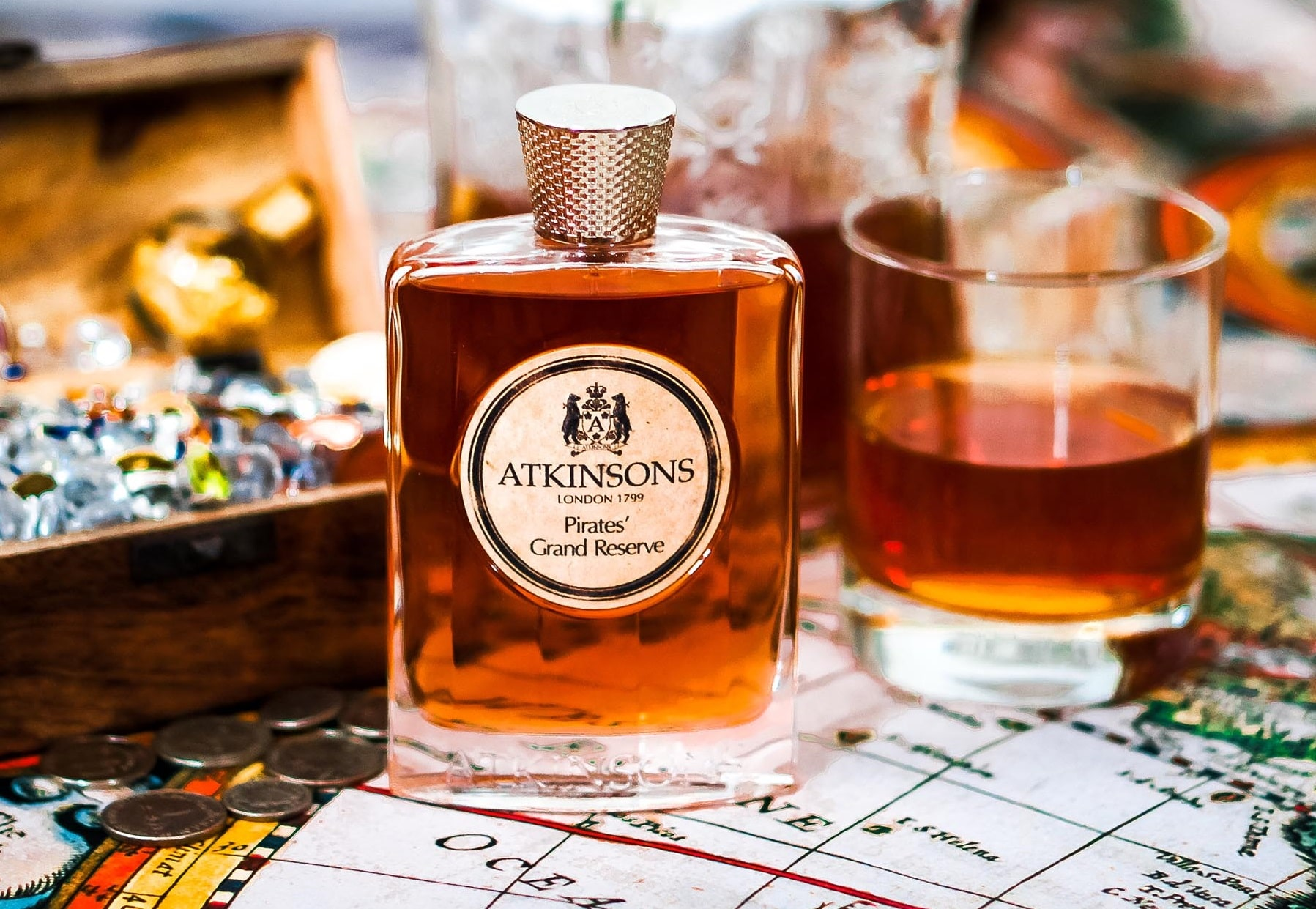 بررسی، مشاهده قیمت و خرید عطر (ادکلن) اتکینسونز (اتکینسون) پایریتس گرند رزرو Atkinsons Pirates' Grand Reserve اصل