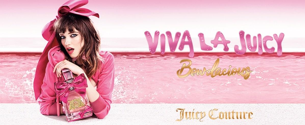بررسی، مشاهده قیمت و خرید عطر (ادکلن) جویسی کوتور ویوا لا جویسی بو دیشس (بودیشس) Juicy Couture Viva La Juicy Bowdacious اصل