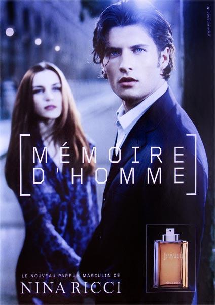 بررسی، مشاهده قیمت و خرید عطر (ادکلن) نینا ریچی ممور دی هوم Nina Ricci Memoire D'homme for men اصل