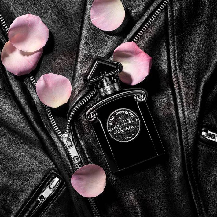 برسی، مشاهده قیمت و خرید عطر (ادکلن) گرلن بلک پرفکتو بای لا پتیت روب نویر Guerlain Black Perfecto by La Petite Robe Noire اصل